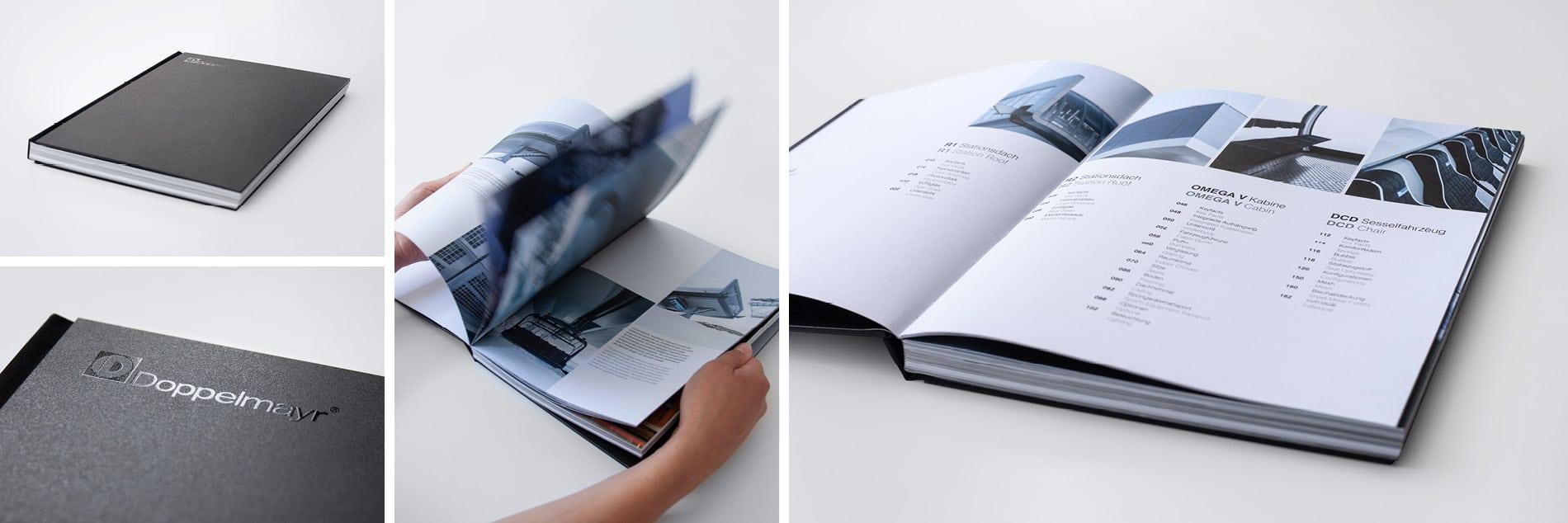 Layout- und Grafik Design eines Buches
