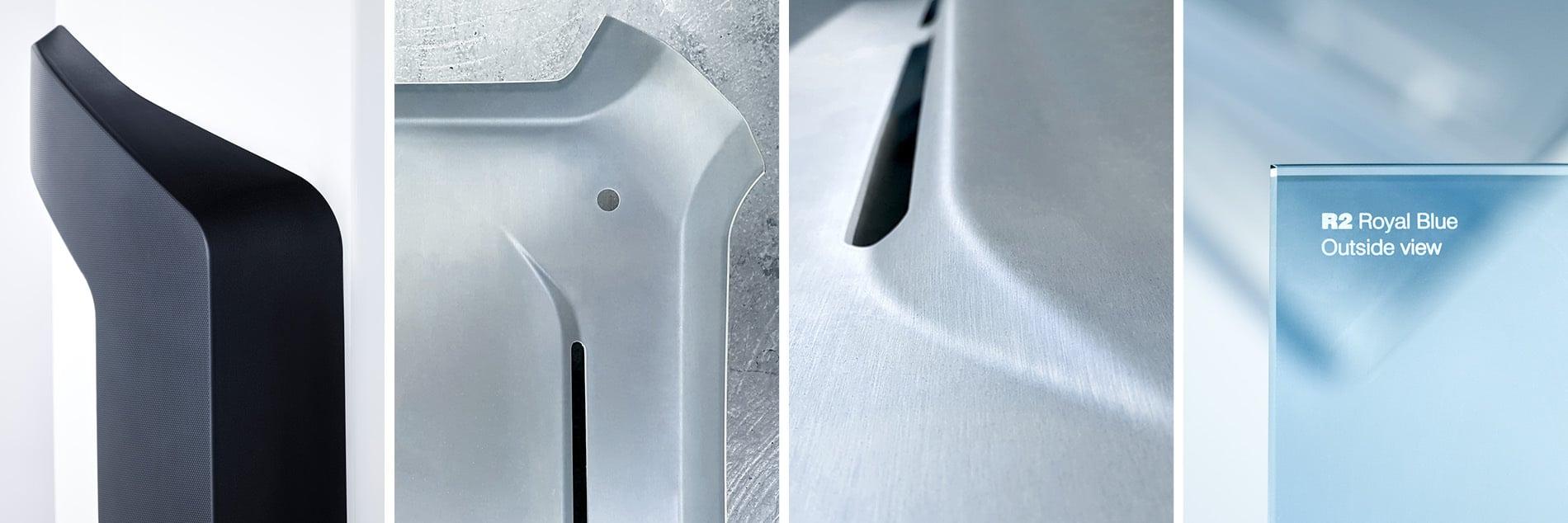 Details von Material-Mustern
