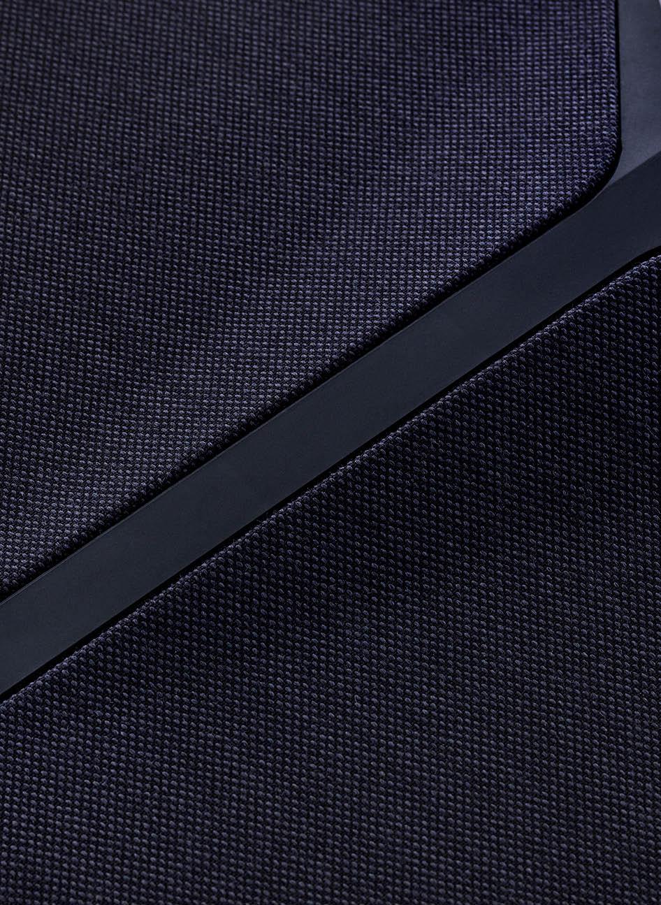 Detail der Material-Struktur von Textil-Sitz