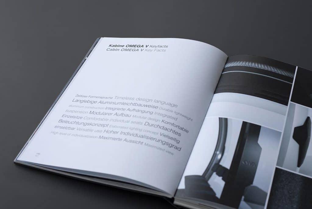 Layout von Produkt-Design Buch